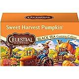 Celestial Seasonings Black Tea, Sweet Harvest Pumpkin, 20 Count