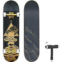 Deals on Merkapa Skateboards for Beginners 31-in Double Kick Deck
