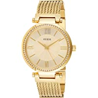 Guess Watch for Women - Analog Stainless Steel Band - W0638L2