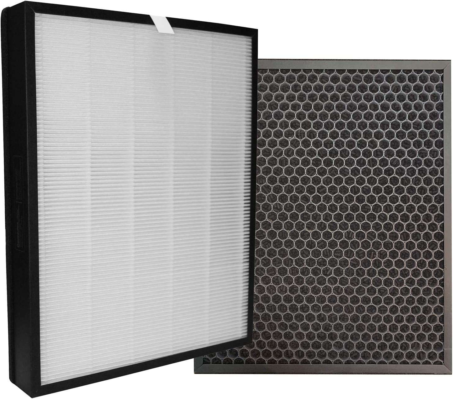 Comedes Juego de filtros de repuesto para los Philips purificador de aire AC3256/10 y AC3259/10 (Serie 3000) | HEPA y filtro de carbón activado | Utilizable en lugar de los FY3432/10 y FY3433/10