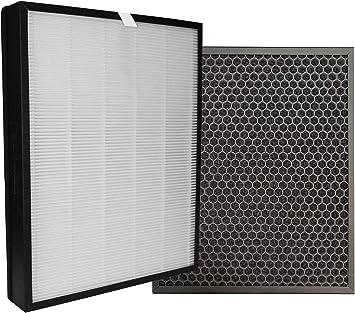 Comedes Juego de filtros de repuesto para los Philips purificador de aire AC3256/10 y AC3259/