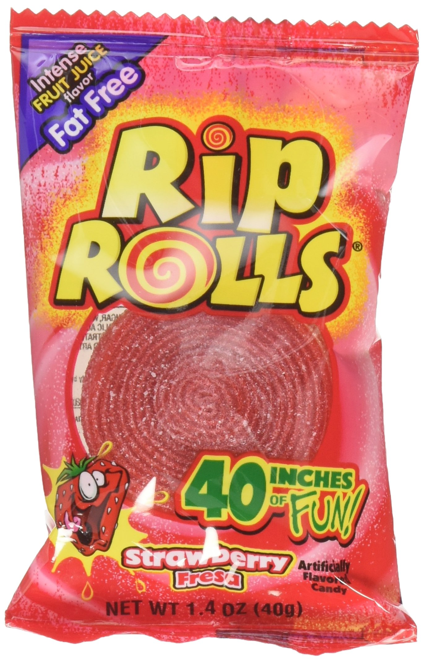 Rip Rolls 24 Count Strawberry, 1.4 oz.
