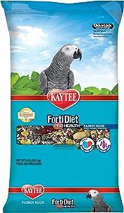 Kaytee Forti-Diet Pro Health Parrot Food, 8 Ib