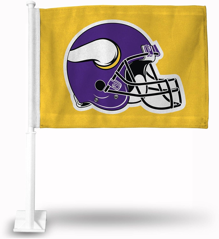 NFL Minnesota Vikings - Helmet Car Flag with included Pole