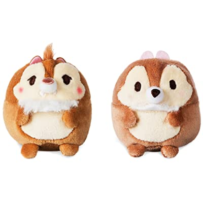 Disney Store Japan Chip & Dale Ufufy Mini Plush Set New with Tags: Toys & Games