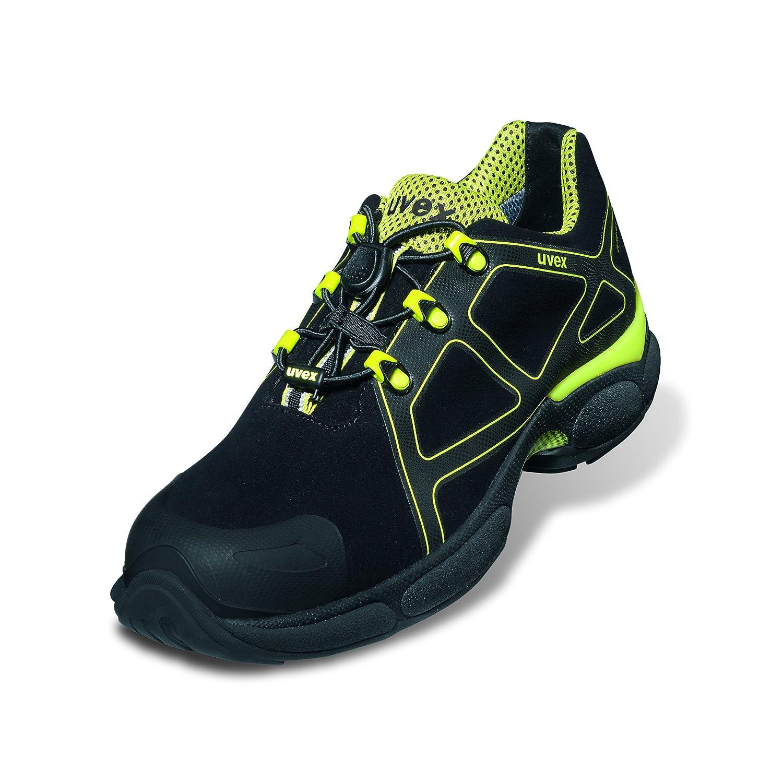 Uvex Sicherheitshalbschuh athletic 9502 xenova athletic Sicherheitshalbschuh S3 Sohle  Gummisohle Farbe  gelb schwarz Gr.  47 c5dcaa
