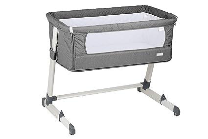 babygo 4601 auxiliar Together Baby Cama Incluye Colchón y acolchado, gris