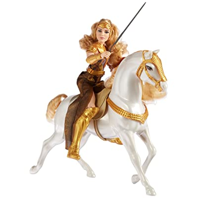 "Mattel DC Wonder Woman Queen Hippolyta Doll & Horse, 12"": Toys & Games"