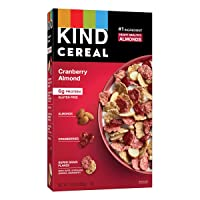 Deals on 4 Count KIND Breakfast Cereal, Cranberry Almond 10 Oz