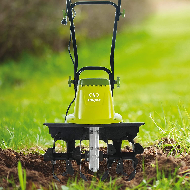 Sun Joe TJ603E 16-Inch 12-Amp Electric Tiller and Cultivator : Garden & Outdoor