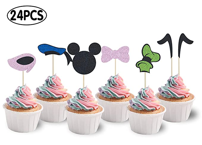 KAPOKKU - Adornos para cupcakes inspirados en cumpleaños ...