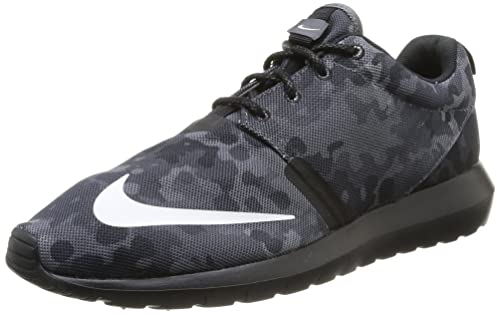 size 40 4c222 48e9d NIKE Men s Rosherun NM FB, Camo-Dark Grey Ivory-Black, 8