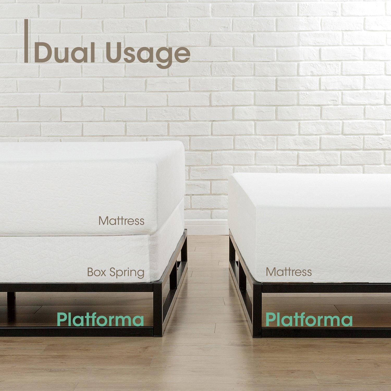 Zinus   Moderno Studio 6 in (approx. 15.24 cm) Platforma bajo perfil ...
