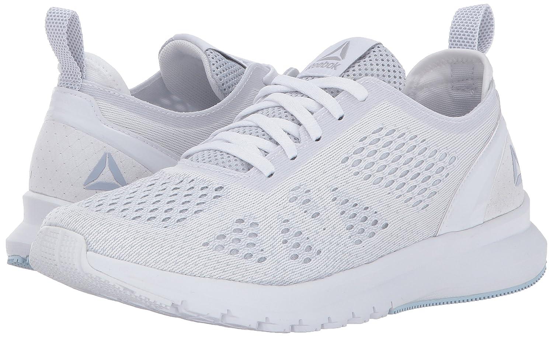 Reebok Women's Print Smooth Clip Ultk Track Shoe Grey/Fresh B01N30LKMI 5 B(M) US|White/Cloud Grey/Fresh Shoe Blue 1dbfa3
