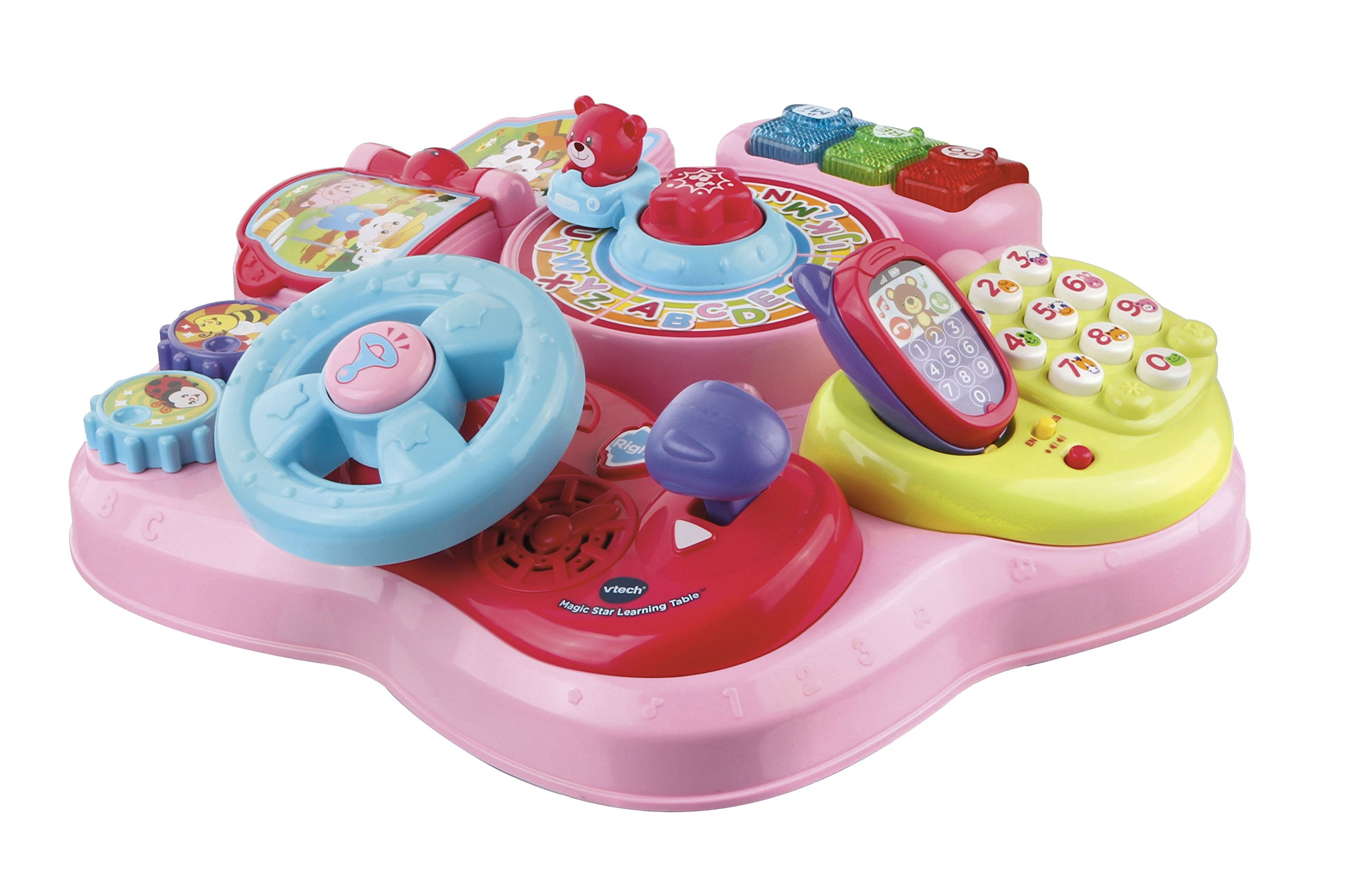 VTech Magic Star Learning Table, Pink (Frustration Free Packaging) by VTech (Image #2)