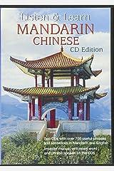 Listen and Learn Mandarin Chinese CD de áudio