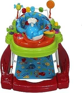 f56f7053e Mychild Roundabout 4 in 1 Activity Walker Citrus  Amazon.co.uk  Baby