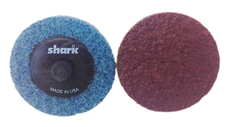 Shark Shark 623TB 2-Inch Star-Brite Surface Prep Discs Grit-Heavy Duty Medium Burgundy Pack-25