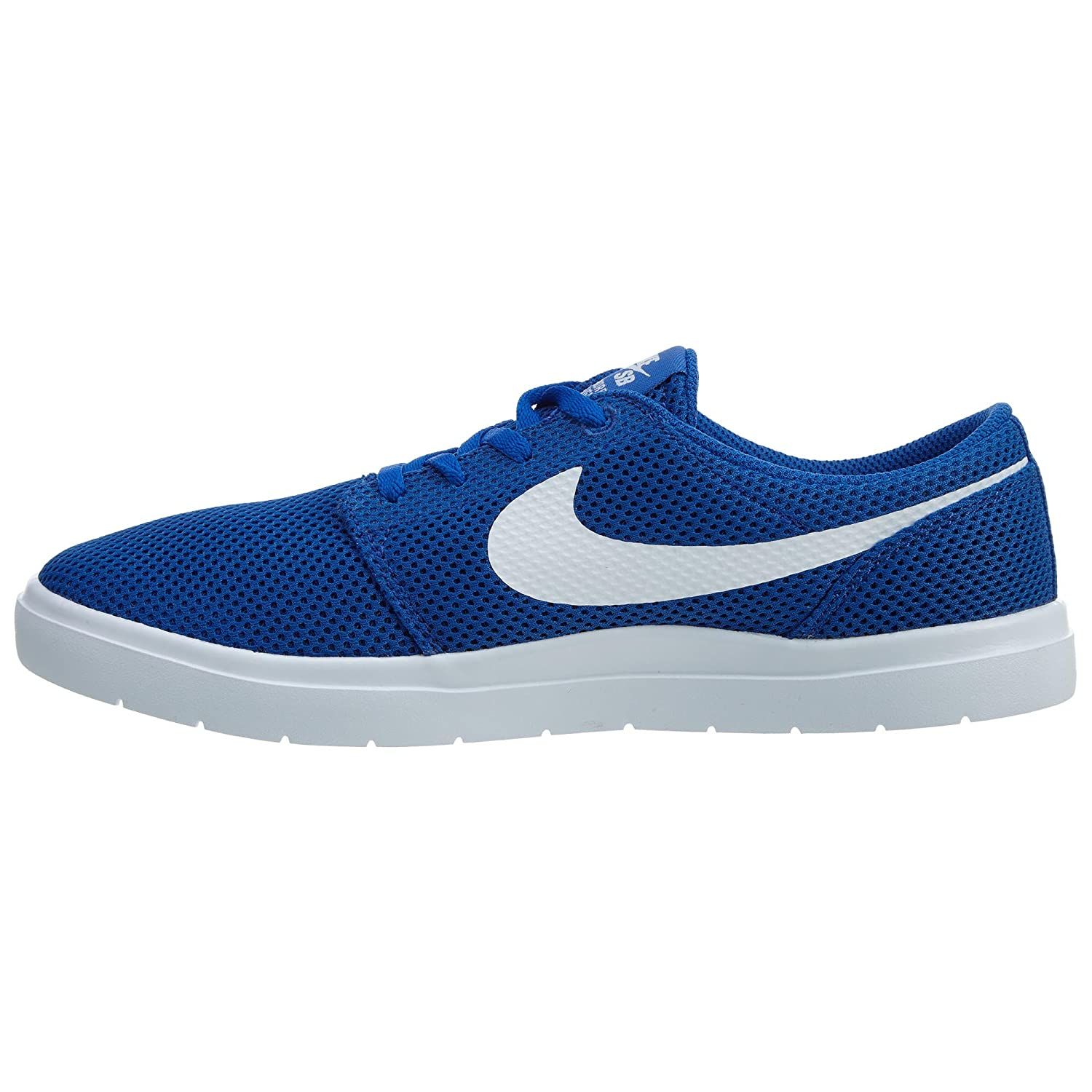 NIKE Men's SB Portmore II Ultralight Skate Shoe B01K3PK6NC 8.5 D(M) US|Game Royal White