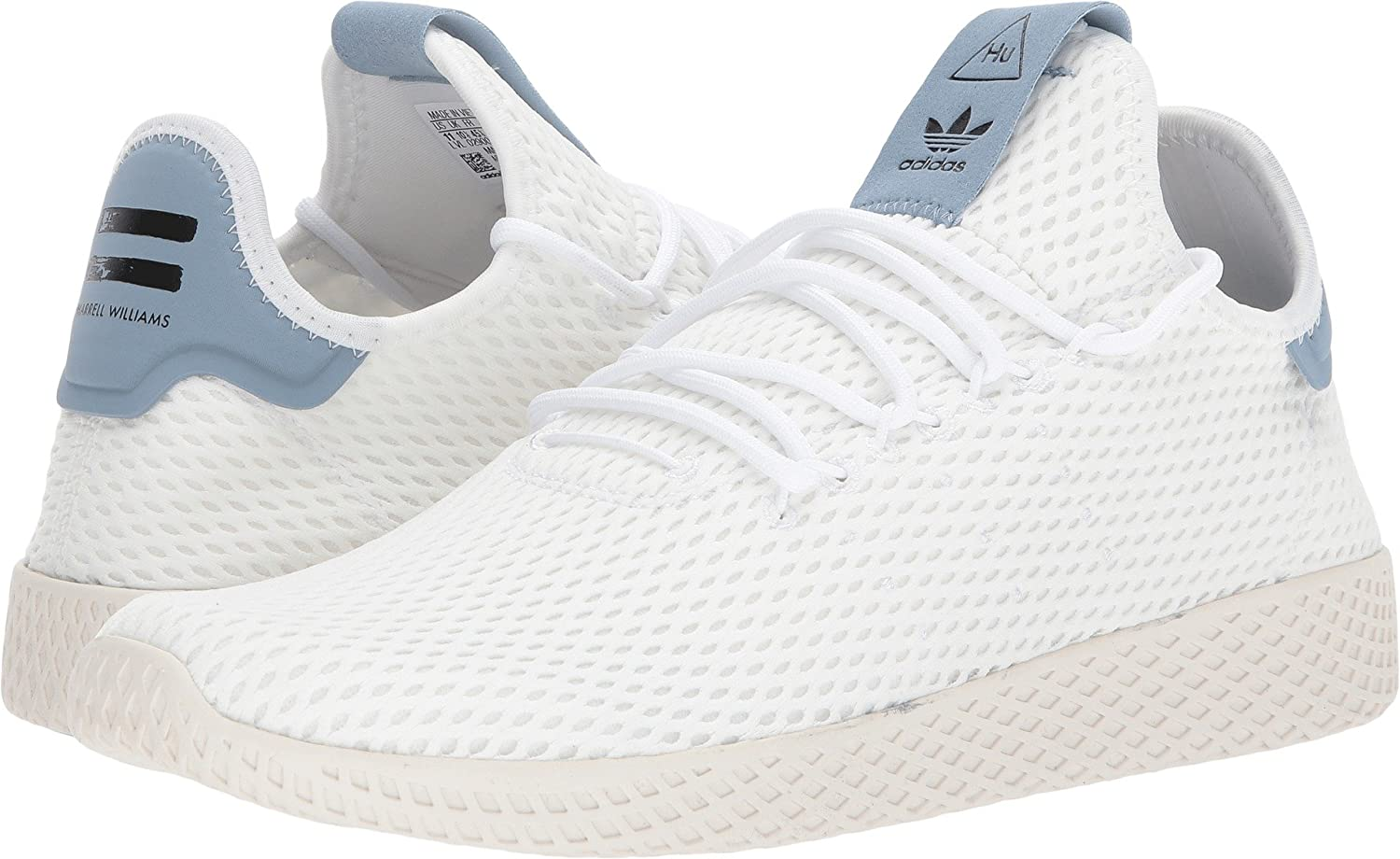 best website 8f7f3 8b3ab adidas Originals Men's Pharrell Williams Human Race White ...