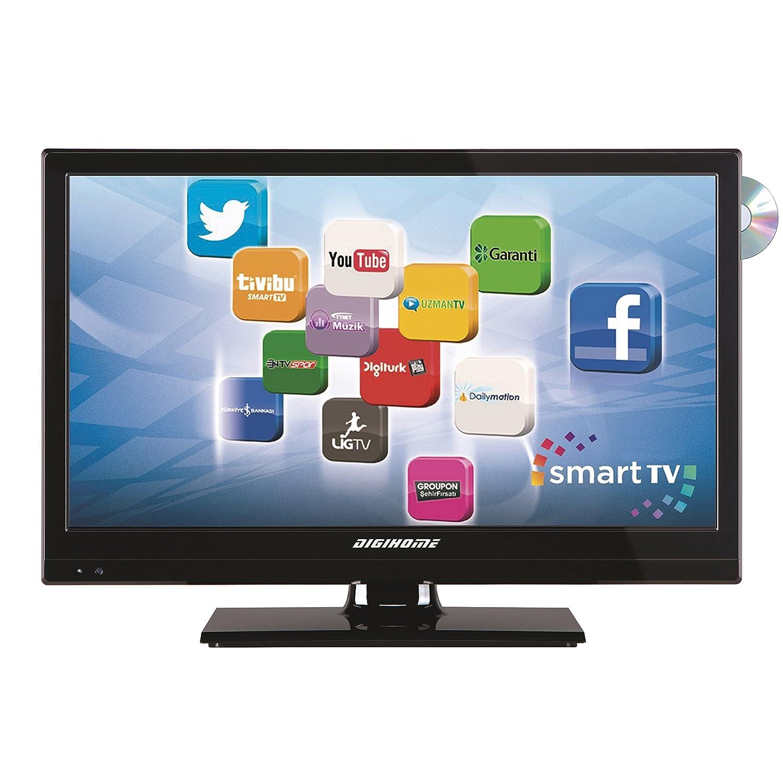 DIGIHOME Smart TV - 19,6 - Wifi - DVB-T2 - DVD: Amazon.es: Coche y moto