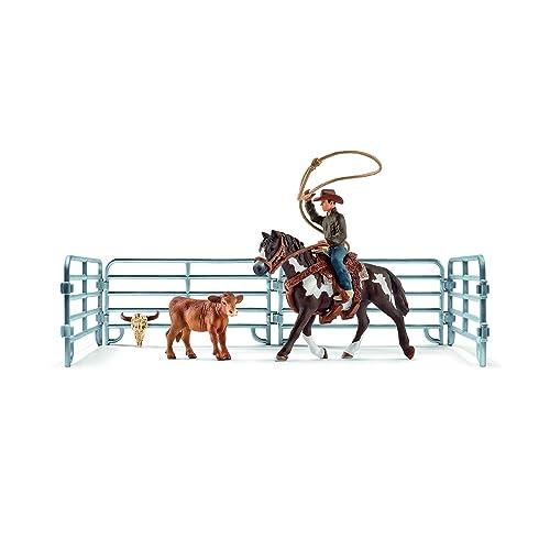 Schleich - 41418 - Capture Au Lasso avec Cowboy