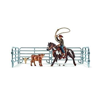 Bridle Toy Figure Schleich North America Western Saddle