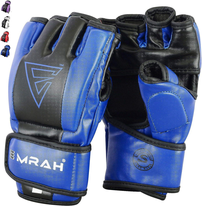 EMRAH MMA Grappling Gloves Boxing Punch Bag Fight Muay Thai Training
