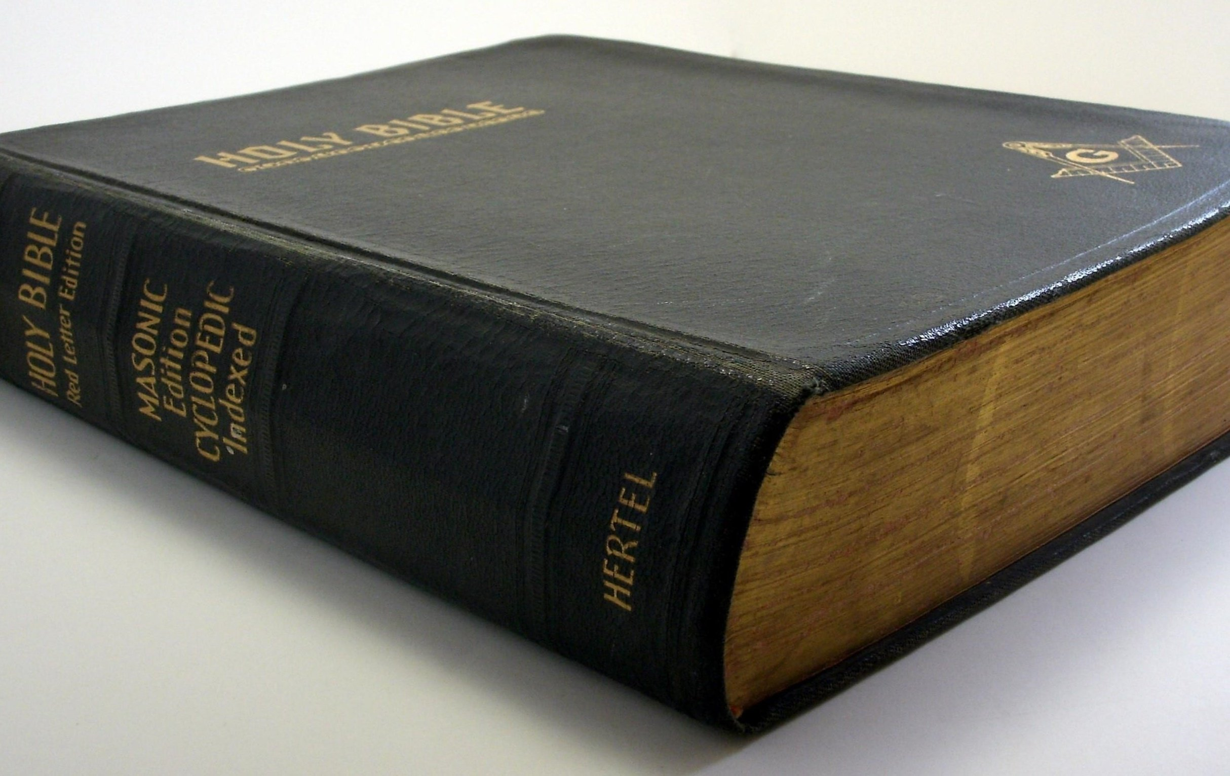 Manual The Holy Bible: Red Letter Bible