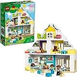 LEGO DUPLO Town 10929 Modular Playhouse Building Kit (129 Pieces)