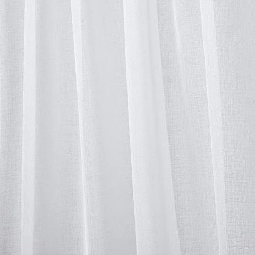 Best window curtain panel: Exclusive Home Curtains Tassels Embellished Sheer Rod Pocket Curtain Panel Pair