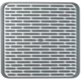 OXO Good Grips Silicone Drying Mat, Square, Grey (1372000)