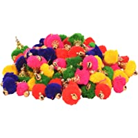 Vardhman multicolor Ghungroo Tassels (28 MM, Multicolour)- Set of 50pcs
