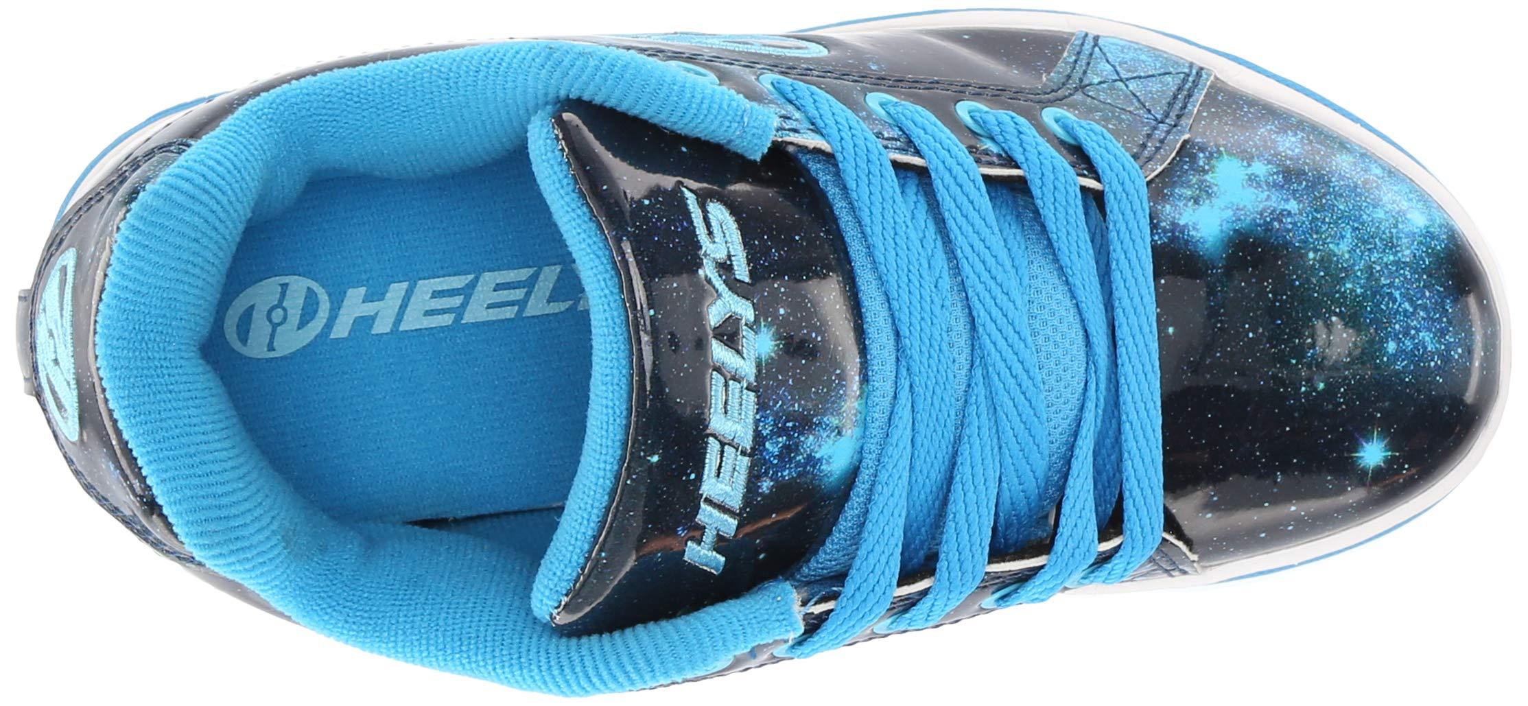 Heelys Girls' Split Tennis Shoe Blue/Galaxy 2 M US Big Kid by Heelys (Image #8)