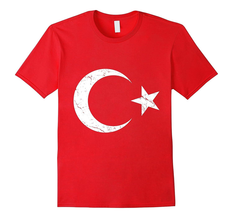Vintage Flag of Turkey T-shirt-Art