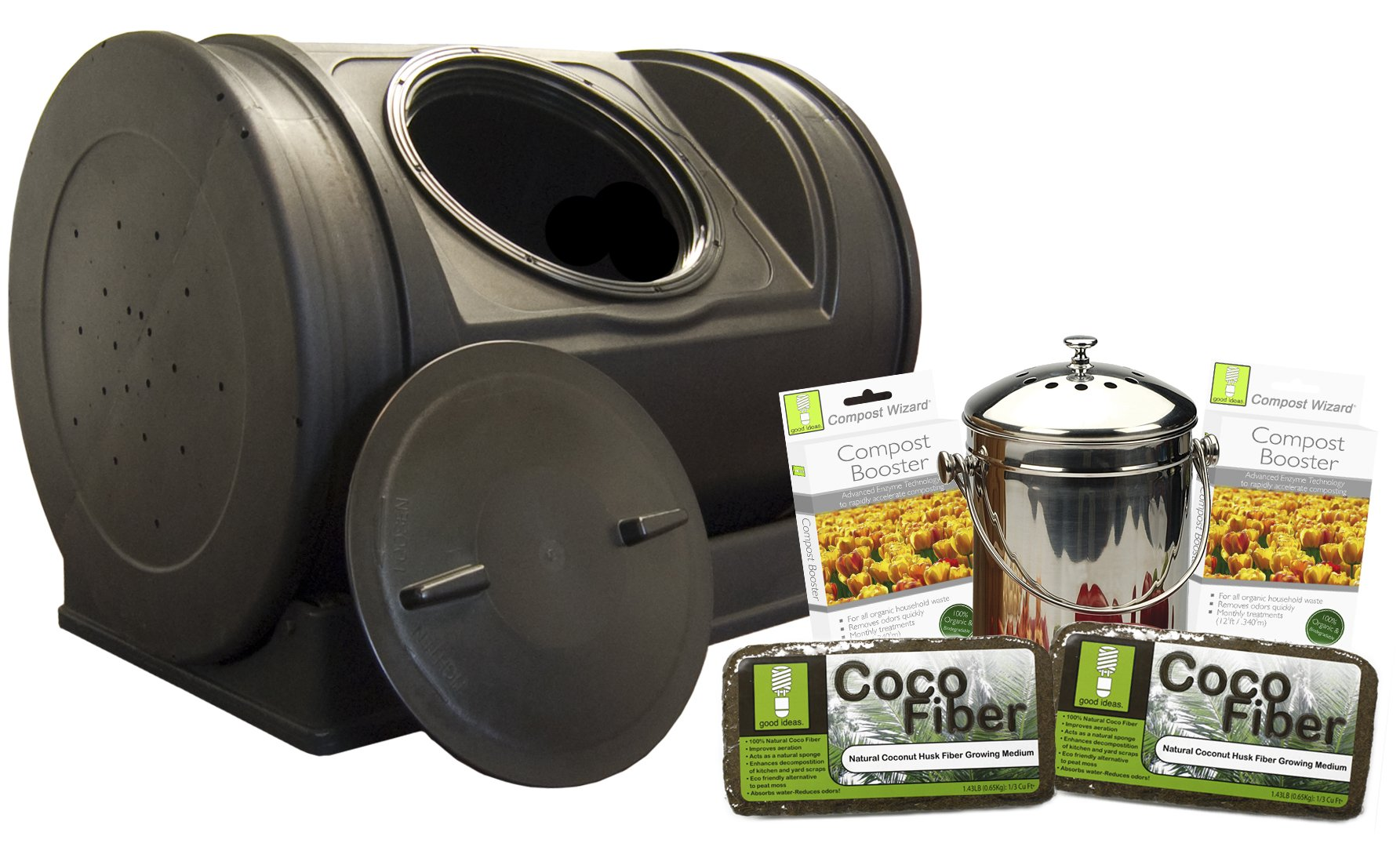 Good Ideas EZCJR-STA Compost Wizard Starter Kit by Good Ideas