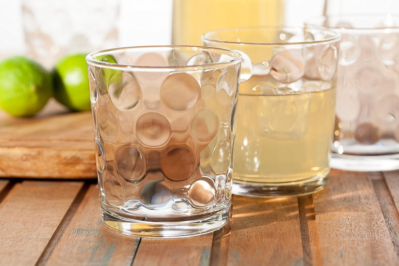 390 ml//Set da 6 Bicchieri di Alta qualit/à//Lavabili in Lavastoviglie//Bicchieri in Cristallo Pasabahce Sevilla Bicchieri per Acqua