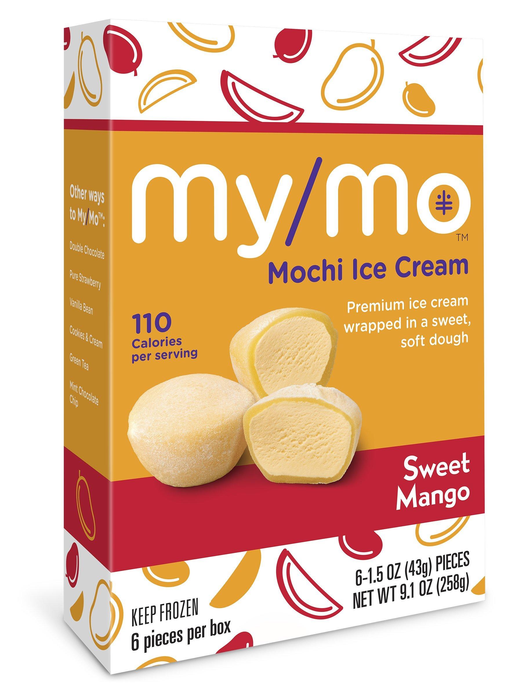 My/Mo Sweet Mango Mochi Ice Cream - 36 Mochi Ice Cream Balls (6 x 6ct. Boxes)