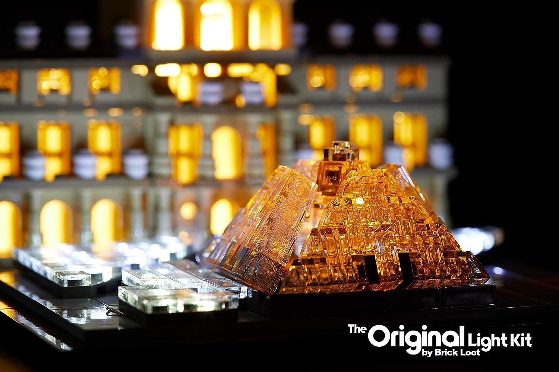 POWER BOX  NEW LIGHTLING CUSTOM LED LIGHTING KIT FOR LEGO 21024 LOUVRE