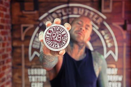 Crema vegana para curar tatuaje Deluxe de Hustle Butter (aprox. 28 ...
