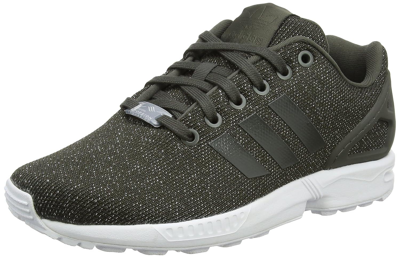 adidas Damen ZX Flux W Laufschuhe  38 2/3 EU|Mehrfarbig (Utility Grey F16/Utility Black F16/Silver Met.)