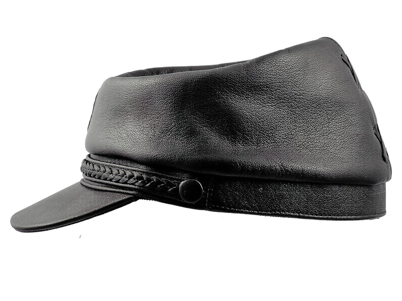 Sterkowski Genuine Leather Secession Kepi Civil War Cap at Amazon Men s  Clothing store  bd359ad1e672