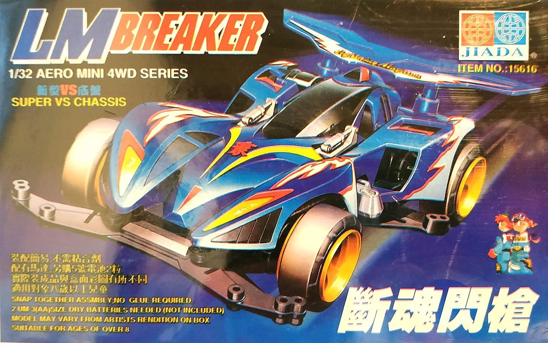 1//32 Aero Mini 4WD Series Max Breaker TRF HADA Tamiya Replicas Modellino da Montare con Valigetta