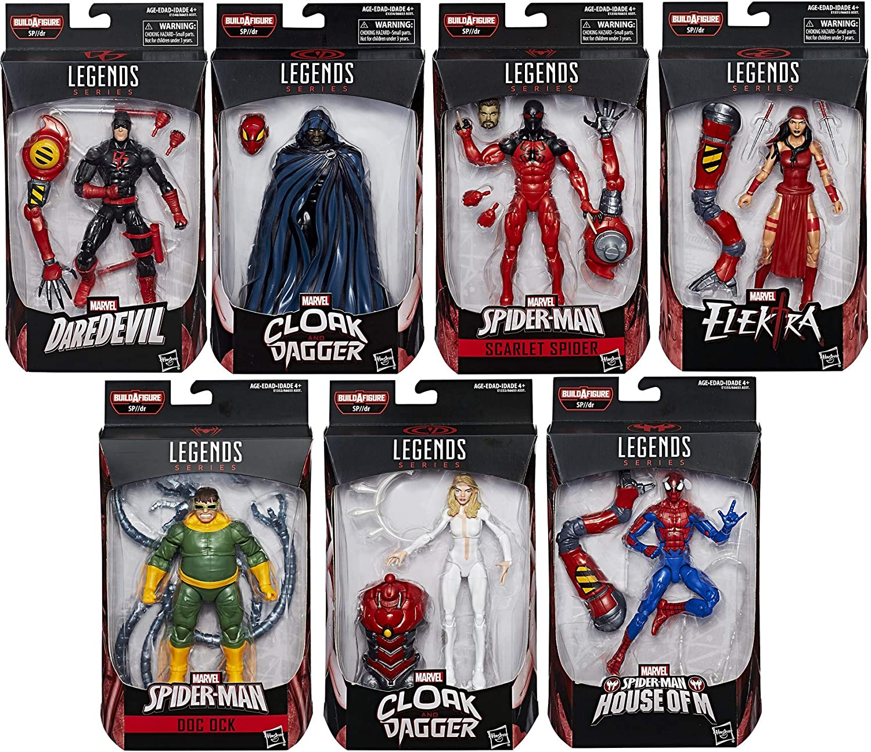 "2018 NEWEST Marvel Legends Spider-Man 7/"" Action Figure Amazing Spiderman Model"
