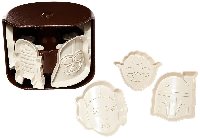 Aubecq 500240 Star Wars - Molde para galletas, diseño de Star Wars: Amazon.es: Hogar
