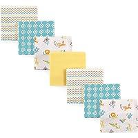 Luvable Friends Unisex Baby Cotton Flannel Receiving Blankets Bundle, Abc, One Size