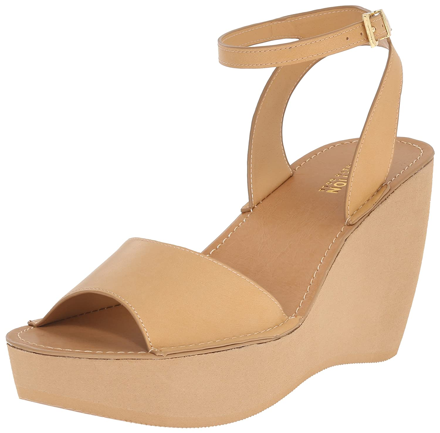 Kenneth Cole REACTION Women's Kind-LY Wedge Sandal B0135NM1R8 7 B(M) US|Tan