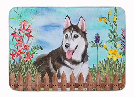 Carolines Treasures As for Me and My House Floor Mat 19 x 27 Multicolor