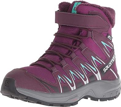 SALOMON XA Pro 3D Winter TS CSWP J, Chaussures de Randonnée Basses Mixte Enfant