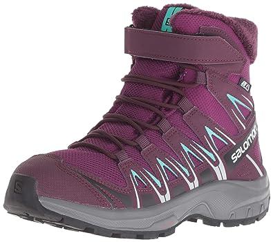 Salomon XA Pro 3D Winter TS CSWP J, Zapatillas de Senderismo Unisex Niños, Morado Dark Potent Purple/Atlantis, 31 EU: Amazon.es: Zapatos y complementos
